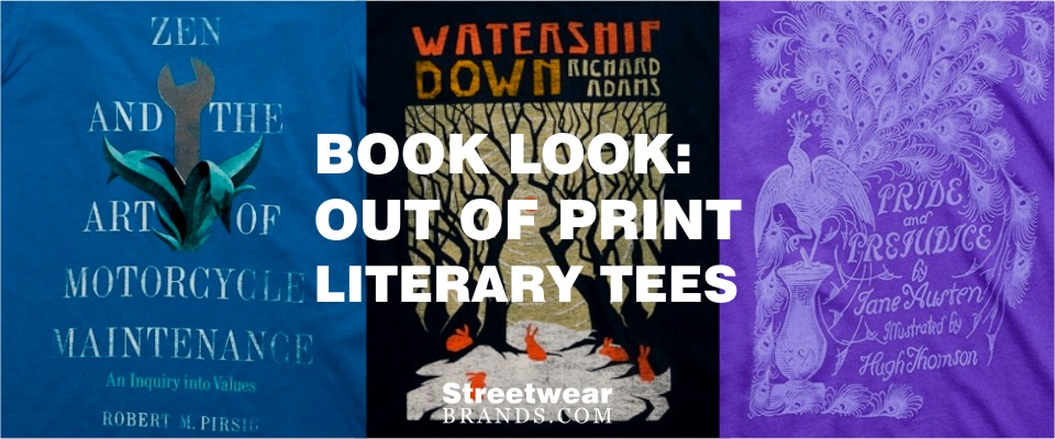 Book Look - Out of Print Literary Tees