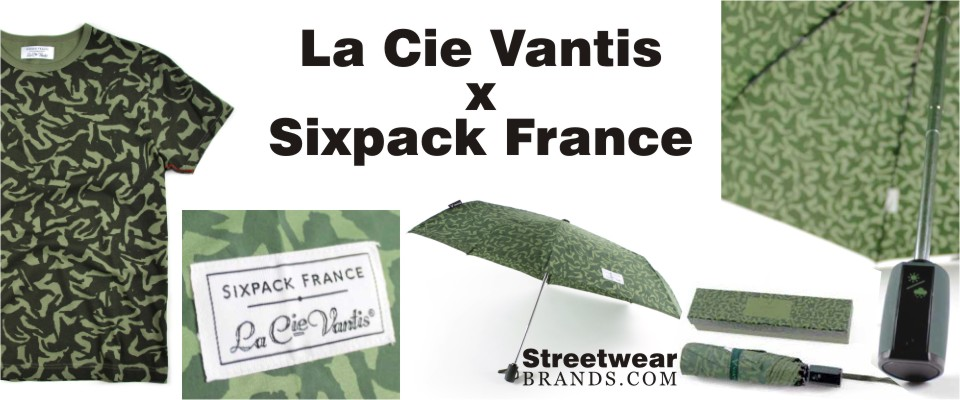 La Cie Vantis x Sixpack France at Margin London - StreetwearBrands.com Streetwear Brands