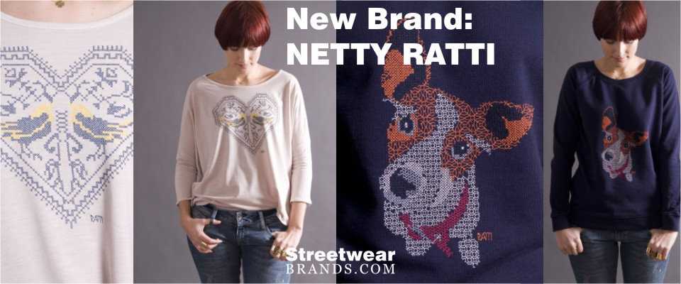 New Brand: Netty Ratti at Margin London - StreetwearBrands.com Streetwear Brands